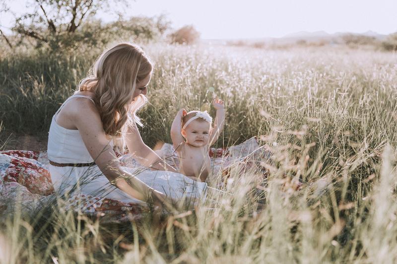 Tucson Family in Beautiful Light